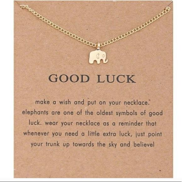 Jewelry - Elephant Necklace🐘